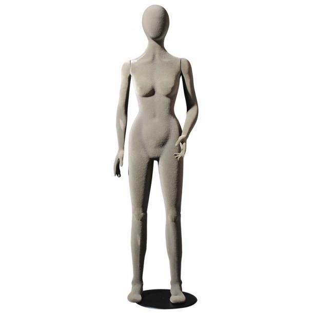 Patricia bevægelig og bøjelig mannequin GRÅ