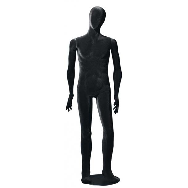 Perry bevægelig og bøjelig mannequin SORT