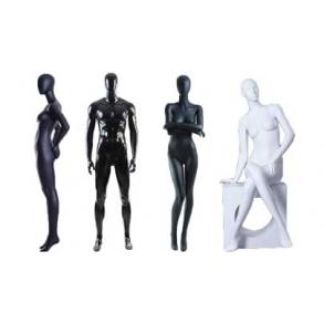 Abstrakte mannequiner