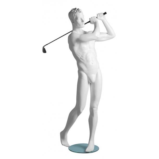 Mathew Golfer mannequin