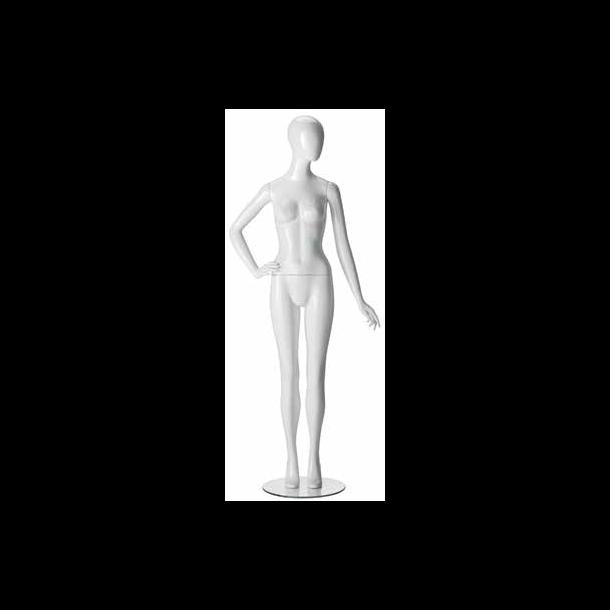 DEMO - Ringo mannequin i blank hvid